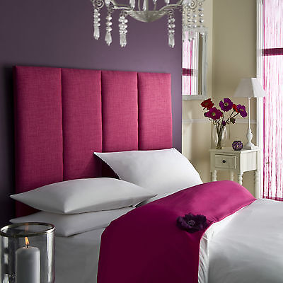 £58.32 • Buy Tass High Headboard All Colours Bed All Sizes Linen Single,Double,King,SuperKing
