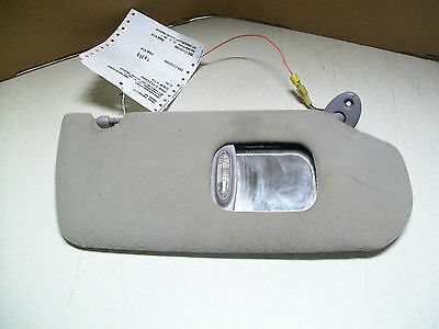 $25 • Buy 1999 Dodge Neon Passenger Gray Sun Visor With Lights And Mirror SEE PICTURES!