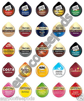 £3.49 • Buy Tassimo Coffee 8 X T DISCS - Pods - Capsules - 28 Flavours To Choose From