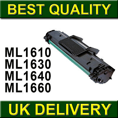 Toner Cartridge For Samsung MLT-D1082S MLT-D1042S ML-D1630A ML-1610D2 • 8.99£