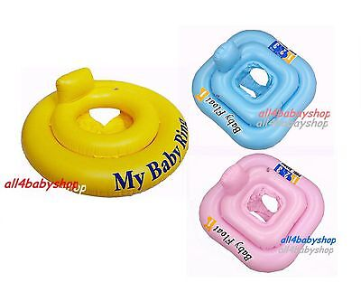 £5.99 • Buy Baby Infant Inflatable Swimming Aid Trainer Seat Ring 0-12M, 0-1y ,1-2y 2 Color