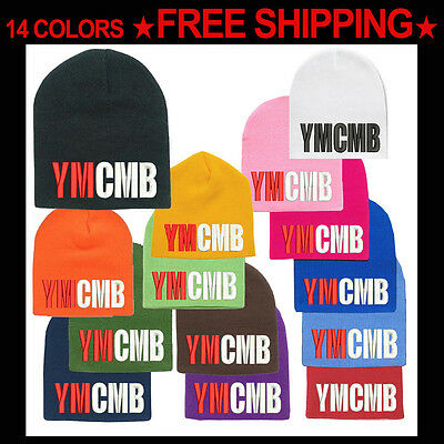 AU21.05 • Buy YMCMB  Beanie Hat Young Money Cash Money Billionaire Hip Hop Swagger FREE SHIP