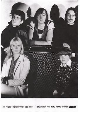 £3.99 • Buy VELVET UNDERGROUND. A3  POSTER.  Lou Reed, Nico, Andy Warhol, SPECIAL PRICE!