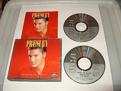 £7.79 • Buy Elvis Presley  All Time Greatest Hits (1997) 2 Cd  45 TRACKS Ex Condition