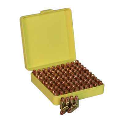 AU9.99 • Buy NEW Plastic Pistol Ammunition Box Small - 100 Rounds - 9mm Etc Ammo Storage