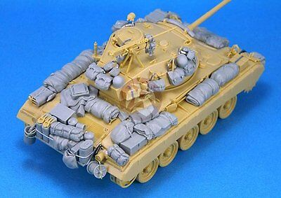 $34.97 • Buy Legend 1/35 M24 Chaffee Light Tank Stowage And Accessories Set [Resin] LF1242