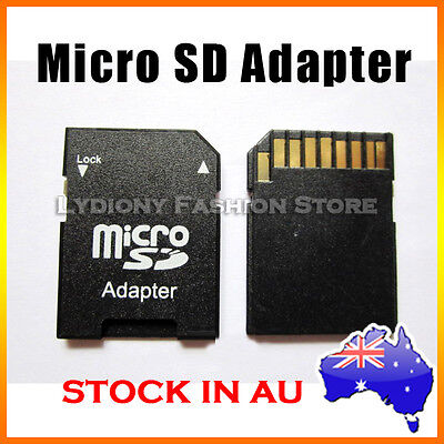 AU1.80 • Buy TF Micro To Standard SD Card Memory Converter Adapter 8gb 16gb For Mobile Phone