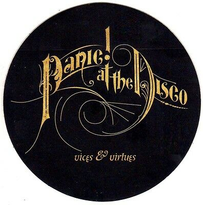 PANIC AT THE DISCO Vices & Virtues RARE New Sticker +FREE Rock/Pop Stickers Lot! • 9.73£
