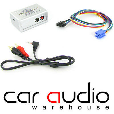 Connects2 CTVPGX010 Peugeot 307 2002 -2005 Car Aux IPhone IPod Interface Adaptor • 34.95£
