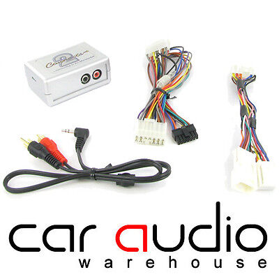 CTVTYX002 For A Toyota Avensis 04-13 Car Aux IPhone IPod Interface Adaptor • 34.95£