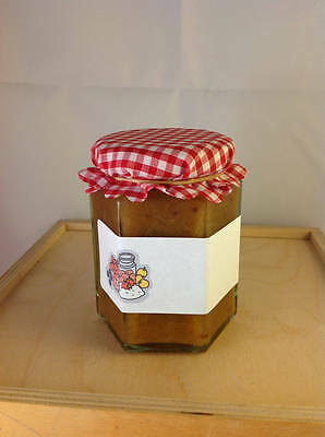 16 Jam Jar Home Made Labels / Plain With Picture • 2.35£