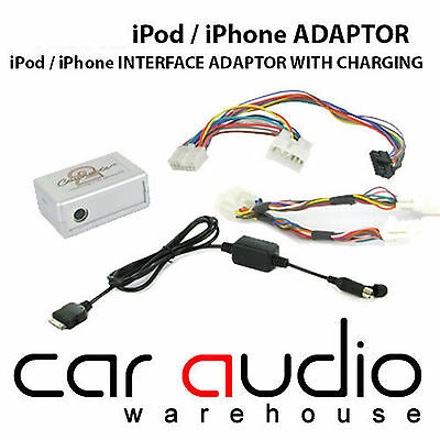 CTATYIPOD002.2 For TOYOTA Avensis Yaris IPod IPhone Interface Adaptor Connects2 • 29.99£