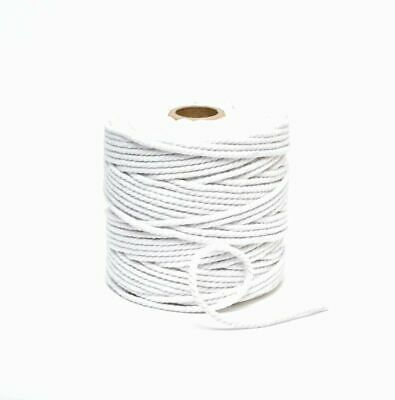 2mm 3mm 4mm Cotton Piping Cord Rope Upholstery Cushions Edging Trimming Crafts • 3.95£