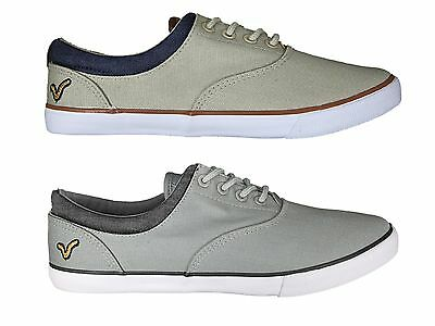 Brand New Voi Jeans Fiery Court Mens Low Tops Trainers Pumps Shoes Sizes 6-12 UK • 10£
