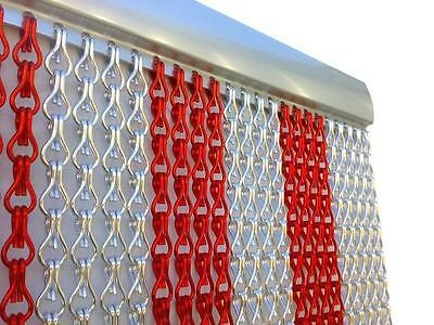 Metal Chain FLY Pest INSECT DOOR SCREEN CURTAIN Control EU Made. • 69.99£