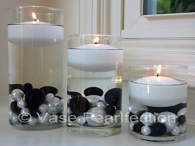 $10.95 • Buy 3  White Floating Candles. Set Of 4 Candles -Unscented-value Pack For Vase Decor