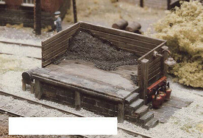 Ratio 505 Locomotive Coaling Stage 00 Gauge = 1/76th Scale Plastic Kit -1st Post • 11.99£