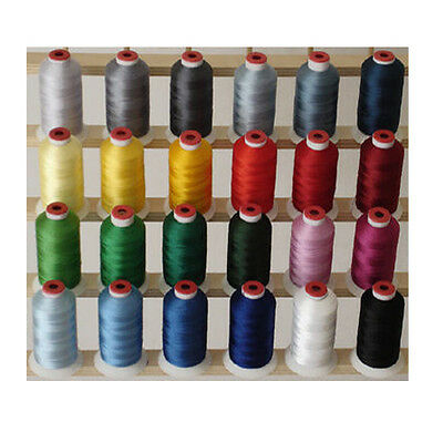 $35.99 • Buy WINTER 24 CONES POLYESTER MACHINE EMBROIDERY THREAD THREADELIGHT 1100yds 40wt