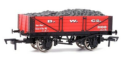 Dapol B755 4 Plank Wagon B.W.CO. Coal Wagon New Boxed  - Tracked 48 Post  • 14.90£