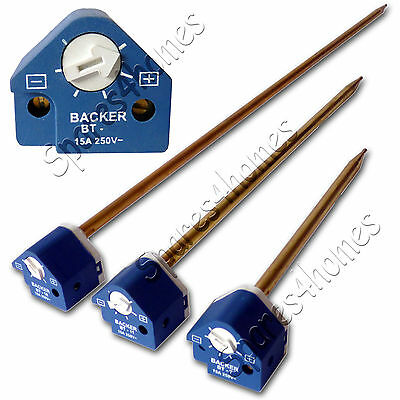 7 , 11 , 18  Immersion Heater Thermostat Backer Fast Dispatch • 13.23£