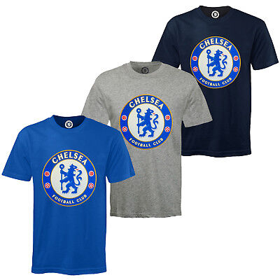 Chelsea FC Official Football Gift Kids Crest T-Shirt • 7.99£
