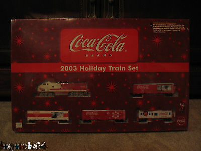 Coca Cola 1/87 Scale Collectible 2003 Holiday Train Set -  New - Sealed • 167£