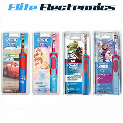 AU35.85 • Buy Oral-b Stages Power 5+ Yrs Disney Characters Electric Rechargeable Toothbrush