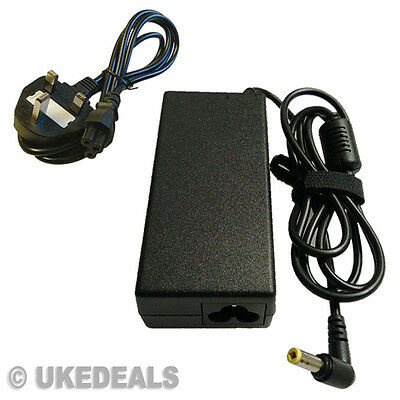 FOR Toshiba Equium P200D-139 Laptop Charger AC Adapter New + LEAD POWER CORD • 14.92£