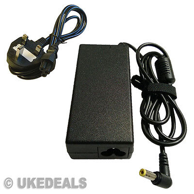 £9.85 • Buy For TOSHIBA 19V 3.42A V85 L25 ASUS N17908 R33030 CHARGER 65W + LEAD POWER CORD