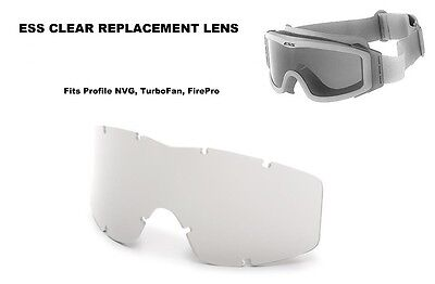£6.50 • Buy ESS Profile NVG Goggle, TurboFan, FirePro - Clear Replacement Lens 740-0113