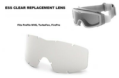 £6.36 • Buy New ESS Profile NVG Goggle, TurboFan, FirePro - Clear Replacement Lens 740-0113