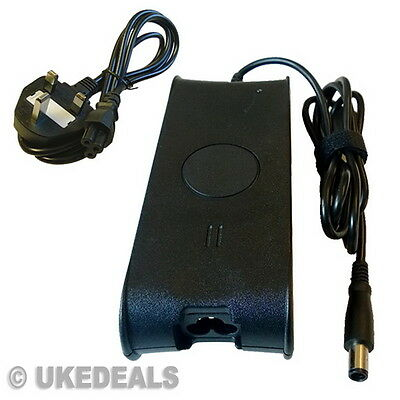 £16.95 • Buy 90W For Dell PA-3E Charger Studio 1551 1555 1564 AC Adapter + LEAD POWER CORD