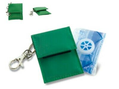 £12 • Buy 5 X CPR Resuscitation Face Shield Keyrings Key Ring Rings With Filter