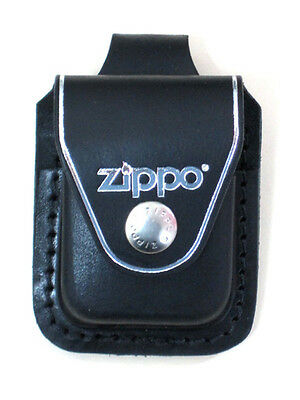 $11.50 • Buy Zippo Lplbk Black Leather Lighter Pouch Loop, New In Box
