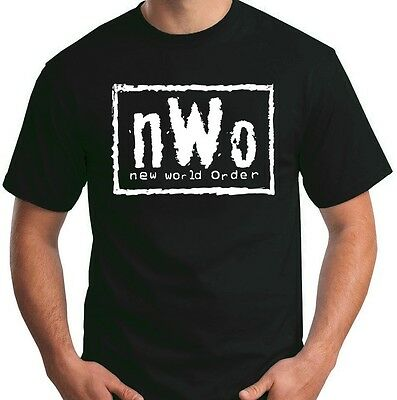 $ CDN23.18 • Buy New World Order T-Shirt NWo Logo WCW Professional Wrestling Size S-6XL