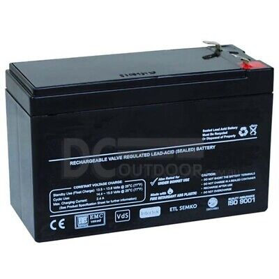 AU34.49 • Buy 12V 7AH Battery -  RECHARGEABLE Lead-acid Battery - AGM - Stand By, Back Up
