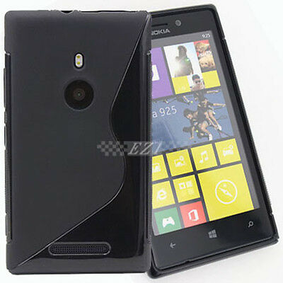 AU4.96 • Buy Durable S Line Soft Case Cover For Nokia Lumia 925