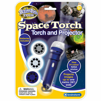 Children's Space Torch And Solar Projector Toy - Project Solar System Photos • 9.95£