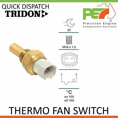 AU53 • Buy New * TRIDON * Thermo Fan Switch For Ssangyong Korando Musso 2.9L D 601