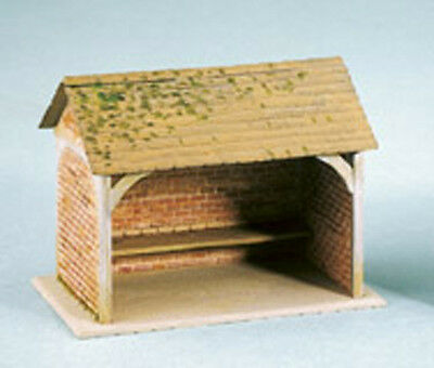 £8.79 • Buy Wills SS75 - Brick Bus Stop Shelter - 1/76 Scale = 00 Gauge Plastic Kit 1st Post