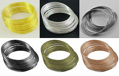 Steel Memory Wire In 5.5cm & 11.5cm, In Silver, Golden, Black, Bronze & Copper  • 2.08£