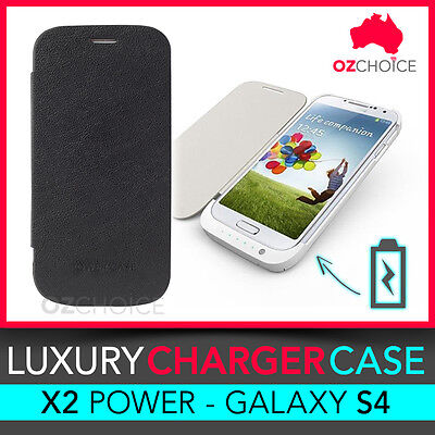 AU22.95 • Buy Galaxy S4 SIV Backup Battery Portable Charger Case Cover Portable Power 3200mAh