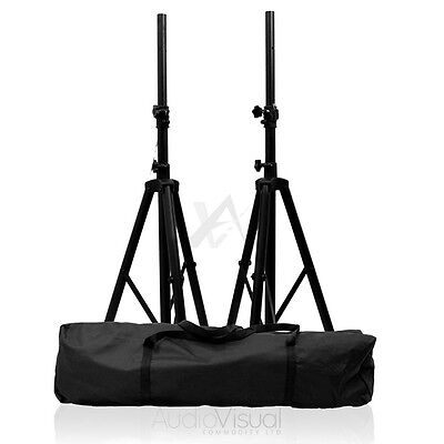 £29.95 • Buy Tripod Speaker Stands & Carry Case High Quality DJ PA Monitor Disco Stands Kit