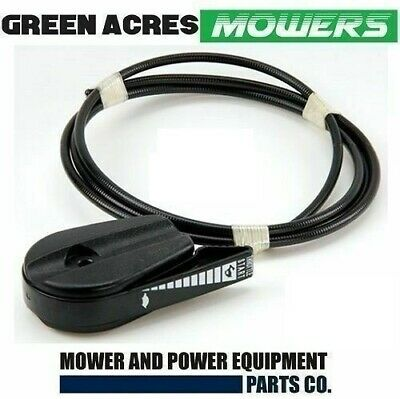 AU13.40 • Buy Heavy Duty Lawn Mower Throttle Control Steel Outer Cable With Plastic Coating