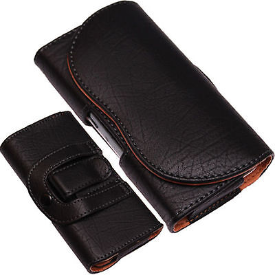 Universal PU-Leather Pouch Belt Clip+Loop Hip Case For Mobile Phone Case/Cover  • 5.89£