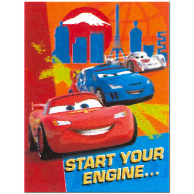 Disney Cars 2 Birthday Party Supplies Invitations O 356