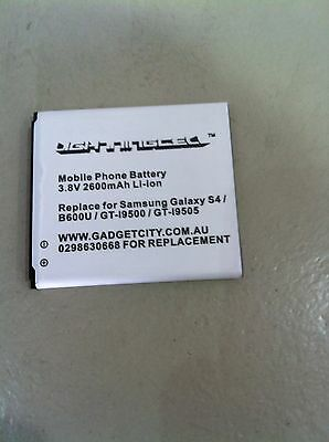 AU18.79 • Buy MOBILE PHONE BATTERY S4 S 4 SAMSUNG GALAXY DUOS LTE IV GT--I9500 9505 SGH-i545
