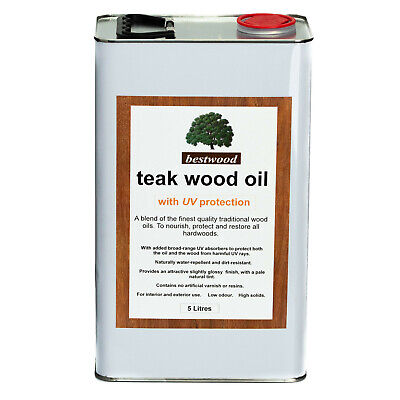 £39.95 • Buy Teak Oil 5 Litres, With UV Protection, THE FINEST QUALITY, Buy Direct