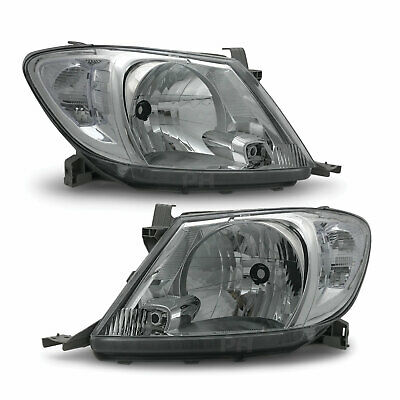 AU195 • Buy Headlights PAIR Clear Fits Toyota Hilux N70 GGN KUN TGN 08/2008 - 04/2011