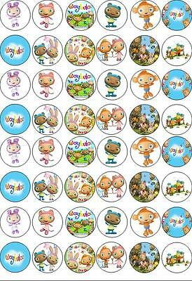 £4.39 • Buy 48 Waybuloo Birthday Party Fairy Cup Cake Toppers Wafer/Rice Paper Edible